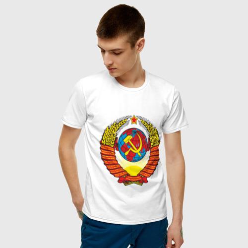 Мужская футболка хлопок СССР (4) Фото 01