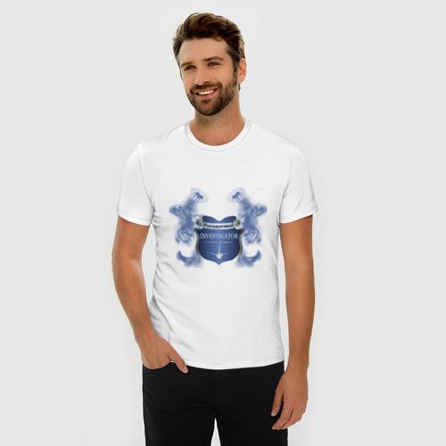 Мужская футболка премиум  Фото 03, Paranormal Investigator