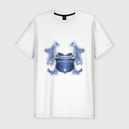 Мужская футболка премиум  Фото 01, Paranormal Investigator
