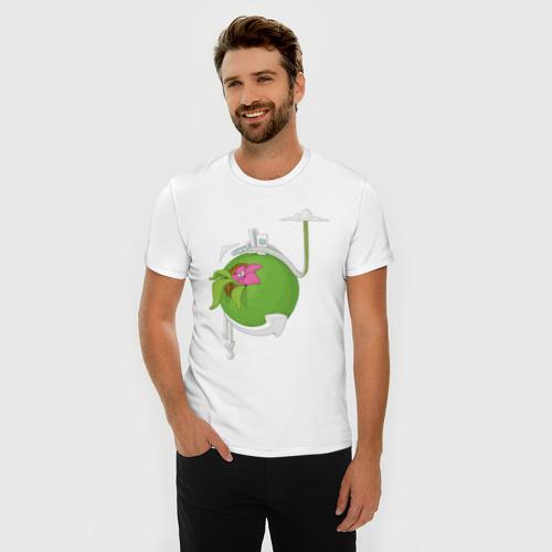 Мужская футболка премиум  Фото 03, Кактус