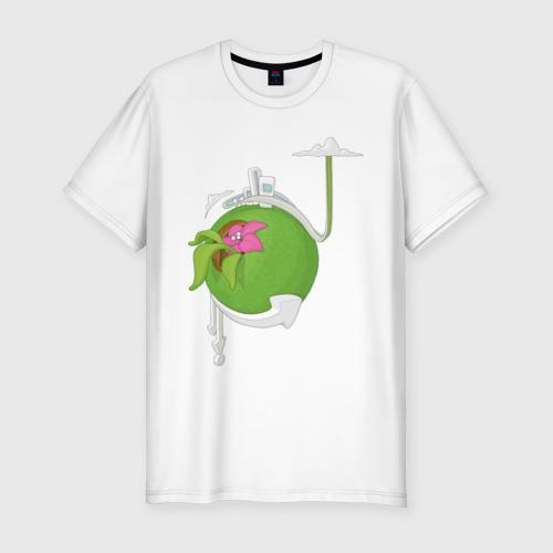 Мужская футболка премиум  Фото 01, Кактус
