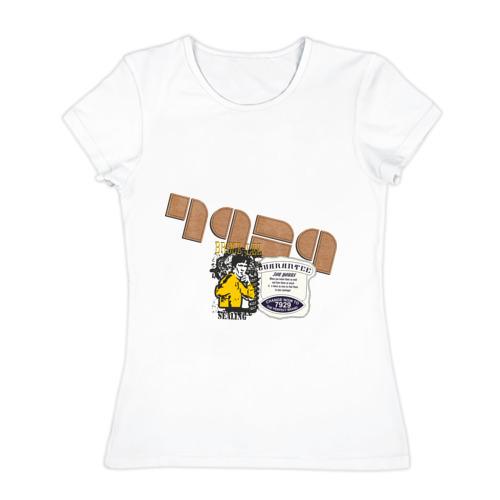 Женская футболка хлопок  Фото 01, Bruce Lee