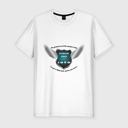 Мужская футболка премиум  Фото 01, Poker professional