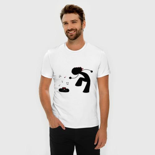 Мужская футболка премиум  Фото 03, Music (13)