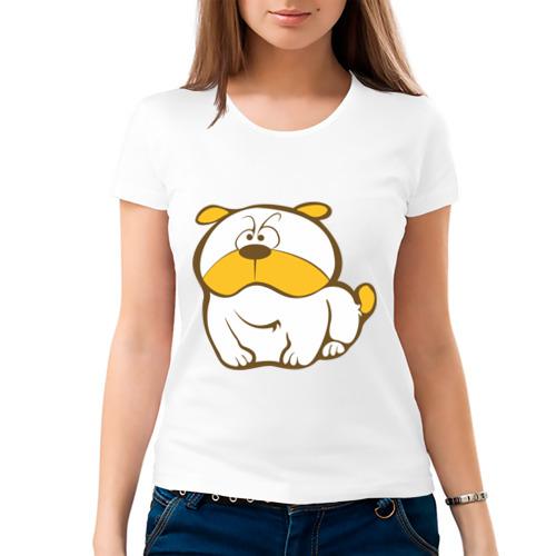 Женская футболка хлопок  Фото 03, Sweet dog