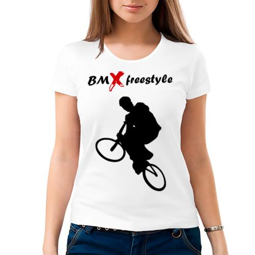 Женская футболка хлопок  Фото 03, BMX freestyle (2)