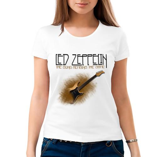 Женская футболка хлопок  Фото 03, Led Zeppelin (2)