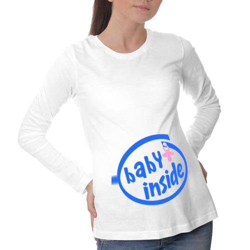Лонгслив для беременных хлопок Baby Inside