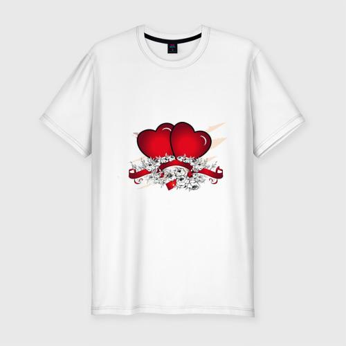 Мужская футболка премиум  Фото 01, Heart (4)