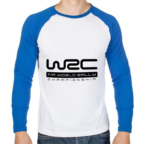 Мужской лонгслив реглан WRC