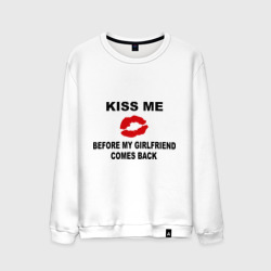 Kiss me before my girlfriend comes back