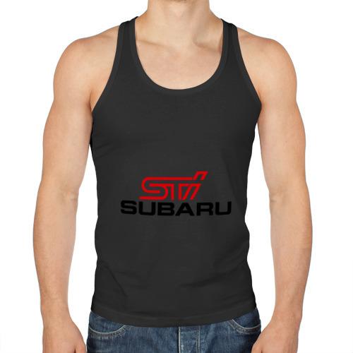 Мужская майка борцовка  Фото 01, Subaru STI