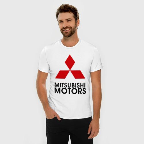 Мужская футболка премиум  Фото 03, Mitsubishi (2)