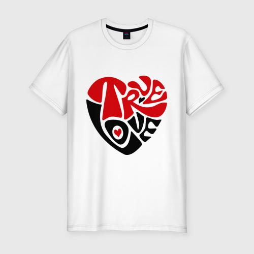 Мужская футболка премиум  Фото 01, Реальная любовь