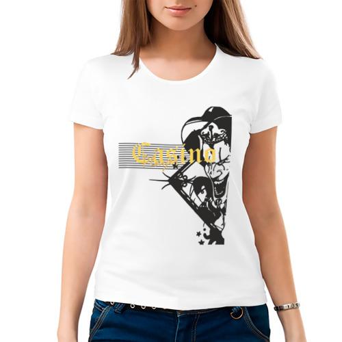 Женская футболка хлопок  Фото 03, Casino Player