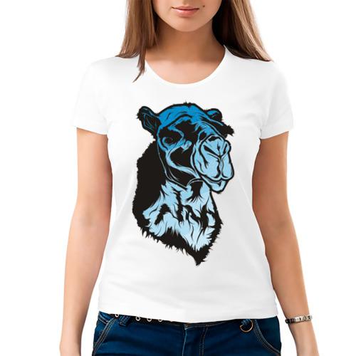 Женская футболка хлопок  Фото 03, Camel