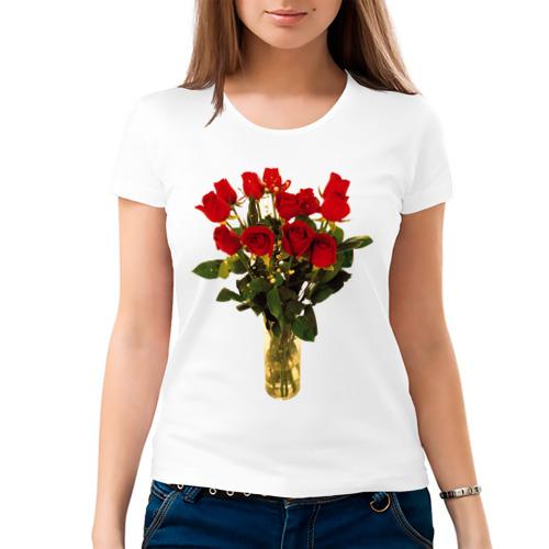 Женская футболка хлопок  Фото 03, Праздник