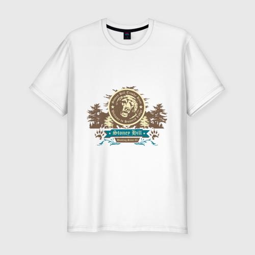 Мужская футболка премиум  Фото 01, Stoney hill
