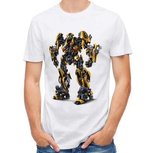 Мужская футболка полусинтетическая