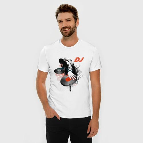 Мужская футболка премиум  Фото 03, DJ Black