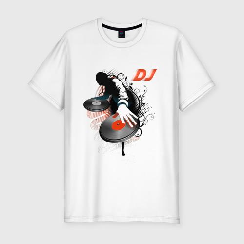 Мужская футболка премиум  Фото 01, DJ Black