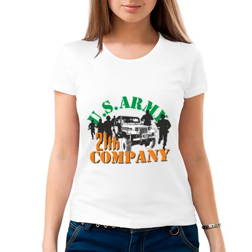 Женская футболка хлопок  Фото 03, Us army