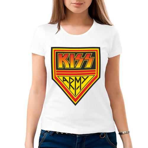 Женская футболка хлопок  Фото 03, Kiss (3)