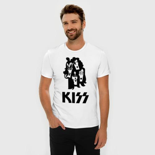 Мужская футболка премиум  Фото 03, Kiss (4)