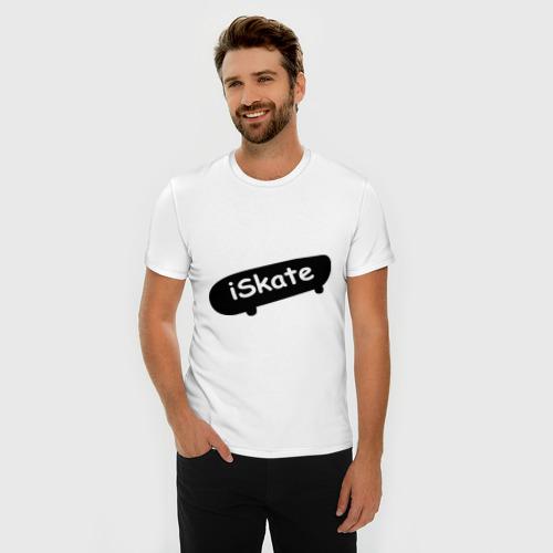 Мужская футболка премиум  Фото 03, ISkate (2)