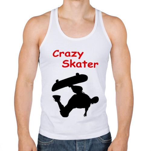 Мужская майка борцовка  Фото 01, Crazy Skater