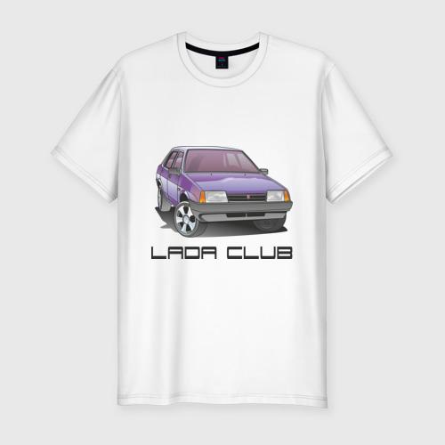 Мужская футболка премиум  Фото 01, Lada club
