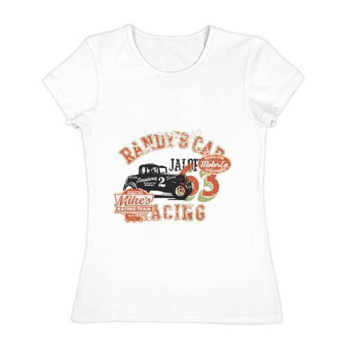 Женская футболка хлопок  Фото 01, Randy car