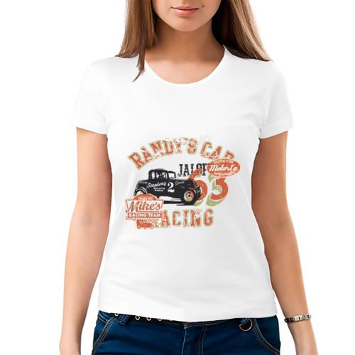 Женская футболка хлопок  Фото 03, Randy car