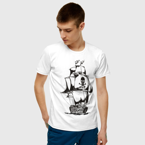 Мужская футболка хлопок Pirats (4) Фото 01