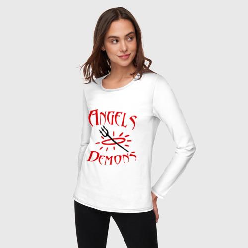 Женский лонгслив хлопок  Фото 03, Angels or Demons