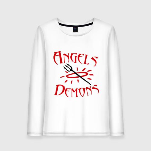 Женский лонгслив хлопок  Фото 01, Angels or Demons