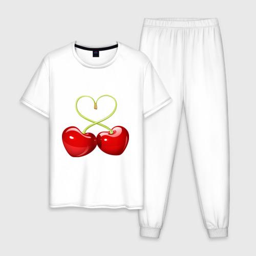 Мужская пижама хлопок Chery love Фото 01