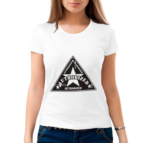 Женская футболка хлопок  Фото 03, Authorized