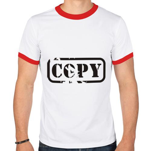 Мужская футболка рингер  Фото 01, Copy