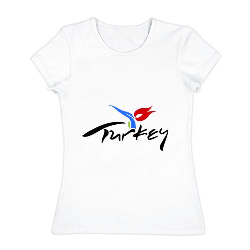 Женская футболка хлопок Turkey