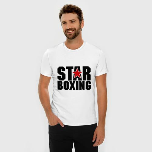 Мужская футболка премиум  Фото 03, Boxing star