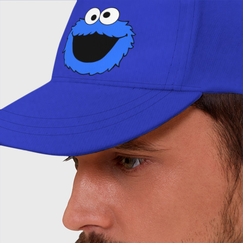 Бейсболка Cookie Monster face