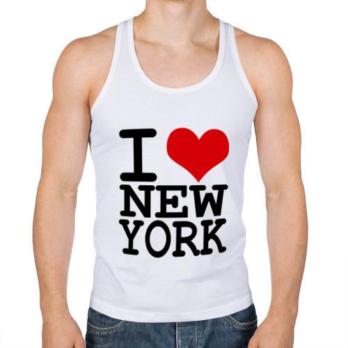 Мужская майка борцовка  Фото 01, I love New York (NY)