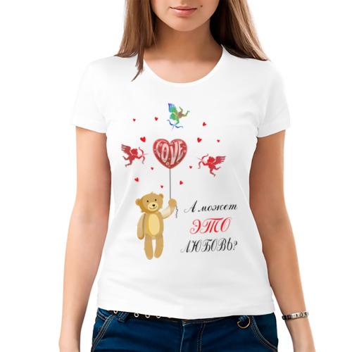 Женская футболка хлопок  Фото 03, А может это любовь