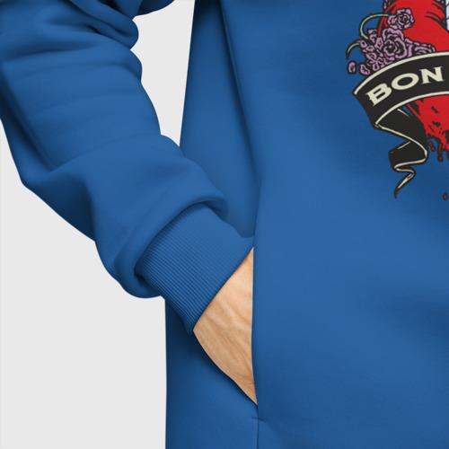 Мужское худи Oversize хлопок Bon Jovi Фото 01
