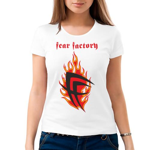 Женская футболка хлопок  Фото 03, Fear factory (2)