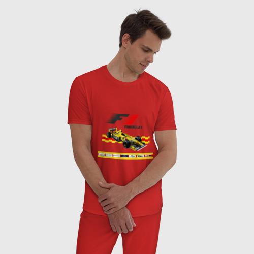 Мужская пижама хлопок F1 Фото 01