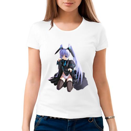 Женская футболка хлопок  Фото 03, Аниме нескромная девушка