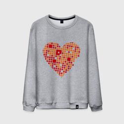 Сердце из квадратиков