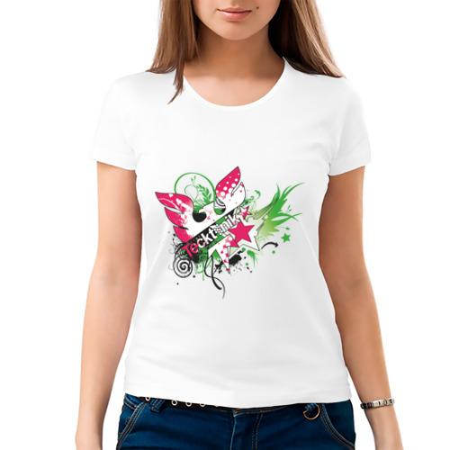 Женская футболка хлопок  Фото 03, Tecktonik (13)